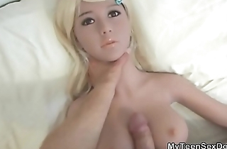 My Teen Doll GF Gets Her Boobs Fucked