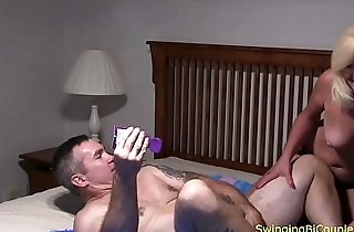 Daddy gets a STRAP-ON fuckl