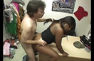 Nice tits ebony sluts get snatches hardcore fucked by white guy'_s dong