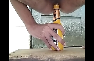ass fucked by bottle