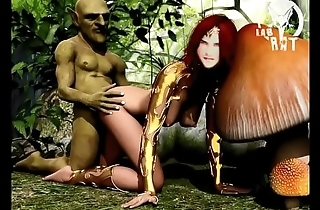 A monster fuck ass and pussy of EziaFun