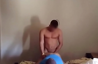 Anonymous straight guy fucks ass for the first time.