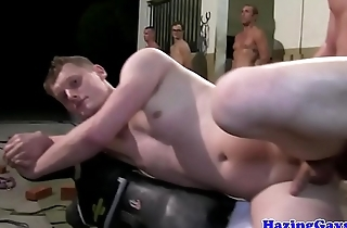 Amateur twink gets assfucked in doggystyle