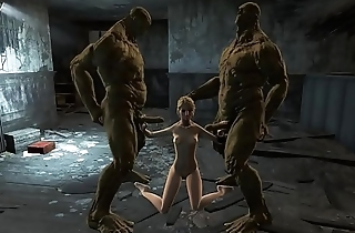 Fallout 4 Supermutans threesome