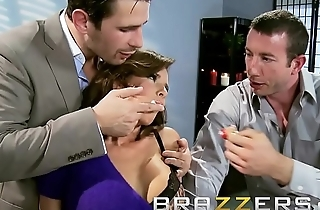 Dirty mother in law (Veronica Avluv) gets shared by two cock - Brazzers