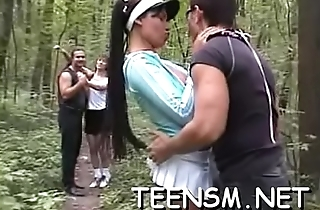 Being in nature'_s garb added to smacked in this tough way makes her hot