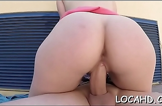 Pussy-hammering be expeditious for a juicy pussy in various poses