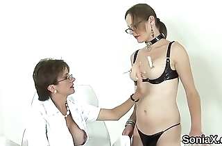 Unfaithful british mature lady sonia showcases her successfully boobs