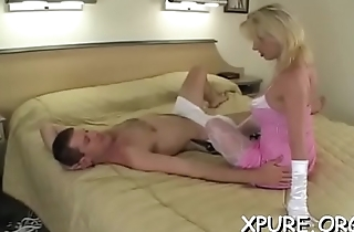 Thraldom action with some hot and coarse female domination