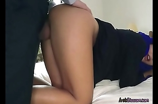 Sexy Arab Apolonia Gets Bent Over And Fucked
