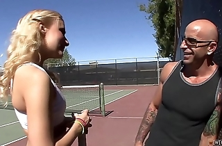 Horny Blonde Knows that After Sporting, Long and Unending Sex is Always Welcomed