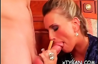 Tractable guy gets humiliated give hot femdom fetish session