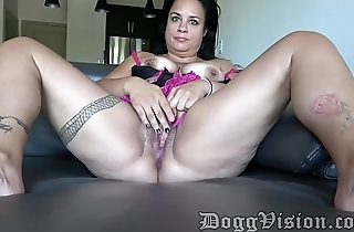 Beautiful Chubby Mom First Time in Dallas